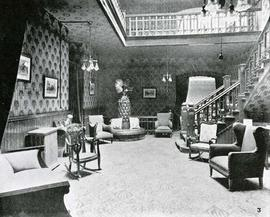 Reception area at the King Edward Hotel, 641 Yates Street