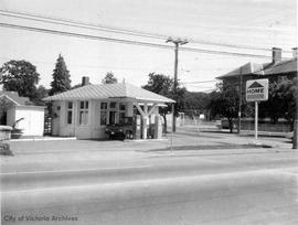 3103 Quadra Street. Home gas station