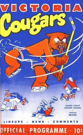 Cougars program cover