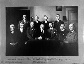 City Council with Mayor William M. Marchant