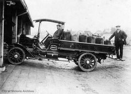 City of Victoria blacksmith shop truck