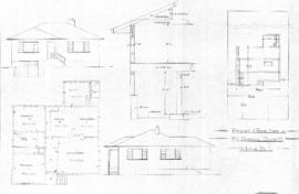 Proposed 5 room house for Mr. Duncan Bissett, Victoria, B.C.
