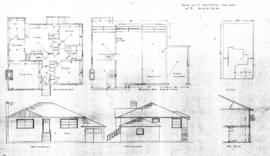 "Proposed home for Mr. & Mrs. R.A. Phillips, Vista Heights, Lot ""B,"" Sec 29 & 30, Map 5511"