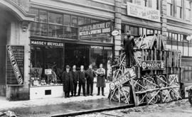Plimley & Ritchie Bicycles and Sporting Goods, 611 View Street