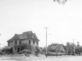 Yates Street - houses torn down to build the Yates Street Fire Hall