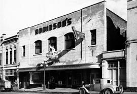 Exterior of Robinson's Sporting Goods, 1305-1311 Broad Street