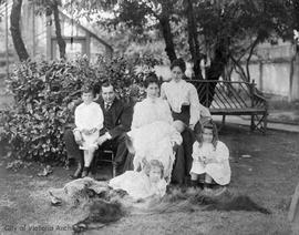 Dr. Owen Meredith Jones and Kathleen Jones family
