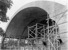 Memorial Arena under construction