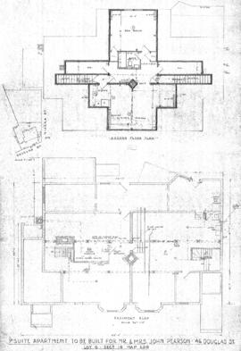 7 suite apartment to be built for Mr. & Mrs. John Pearson, 46 Douglas St., Lot 6, Sect. 18, M...