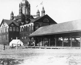 Agricultural Hall at Willows Fairgrounds