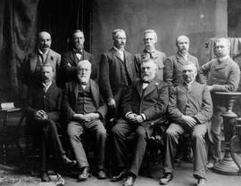 City Council 1900-1902 with Mayor Charles Hayward