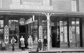 George H. Maynard City Boot and Shoe store and factory, Fort Street