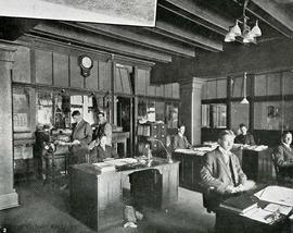 Interior of Wilson Bros. offices, 544 Herald Street