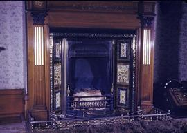 "Benjamin W. Pearse family home at 1618 Fort Street known as ""Fernwood"", fireplace"