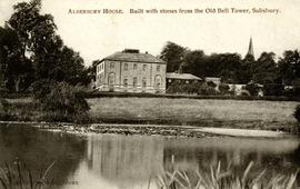 Alderbury House, Salisbury. Home of Robert Fort's father, Edward Fort
