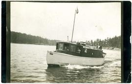 "William D'Oyly Rochfort's boat, the ""O.O."""