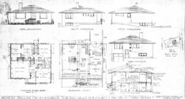 Proposed dwelling for Mr. M. Kowalyk to be built on Lot 13, Blk. X, Sect. 4, Map 33A, Victoria Di...