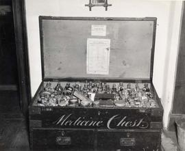 Dr. John S. Helmcken's medicine chest