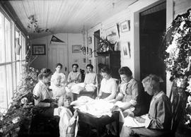 Ladies sewing group