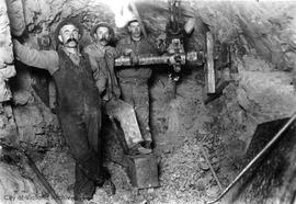 Installation of the N.W. sewer