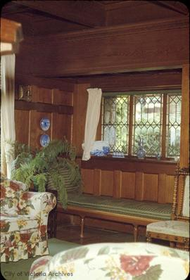 "Lyman Duff family home at 1745 Rockland Avenue known as ""Ashton"", interior"
