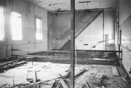 1 Centennial Square. Personnel and Baxters Apt. in City Hall during renovations at the time of Ce...