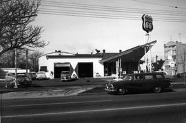 1150 Cook Street. Service station