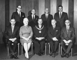City Council with Mayor Hugh R. Stephen