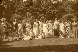 Cast of a Grecian play