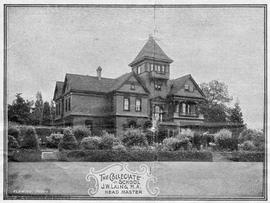 """The Laurels"", 1249 Rockland Avenue, residence of Robert and Mary Ward, later the Colle..."