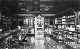Cyrus Bowes Drug Store, Government Street, interior