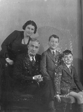 Mr. and Mrs. George Straith and sons
