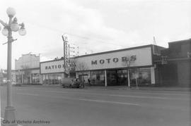 819 Yates Street, National Motors