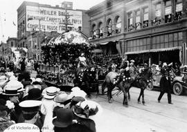 Coronation Day parade, Government Street
