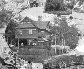 Home of William Dalby, corner of Balmoral Road and Camosun Street