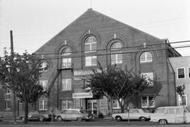 The old Drill Hall at 431 Menzies Street
