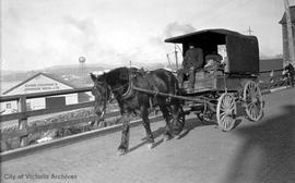 Horse and cart on Wharf Street