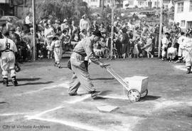 Little League baseball, marking lines