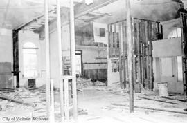 1 Centennial Square. Mayor's office in City Hall during renovations at the time of Centennia...