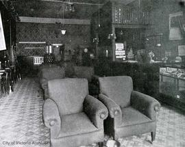 Lounge of the King Edward Hotel, 641 Yates Street