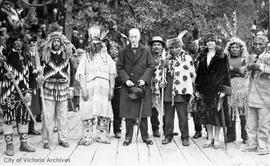 Viscount Willingdon with First Nations Chiefs