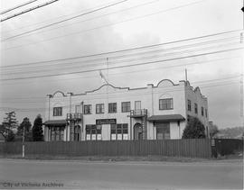 HMCS Malahat building on Esquimalt Road (later Chief and POs mess)