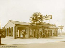 Turgeson Bros. gas station, 2702 Government Street