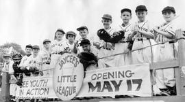 Little League baseball, Junior Chamber of Commerce opening game