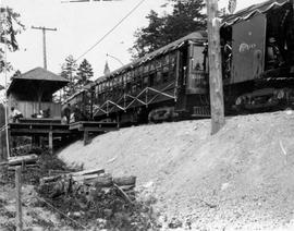Interurban Line to Deep Cove opening ceremonies of the on June 18, 1913
