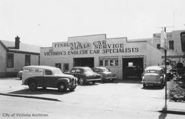 817 Fisgard Street. Findlay's Small Car Service